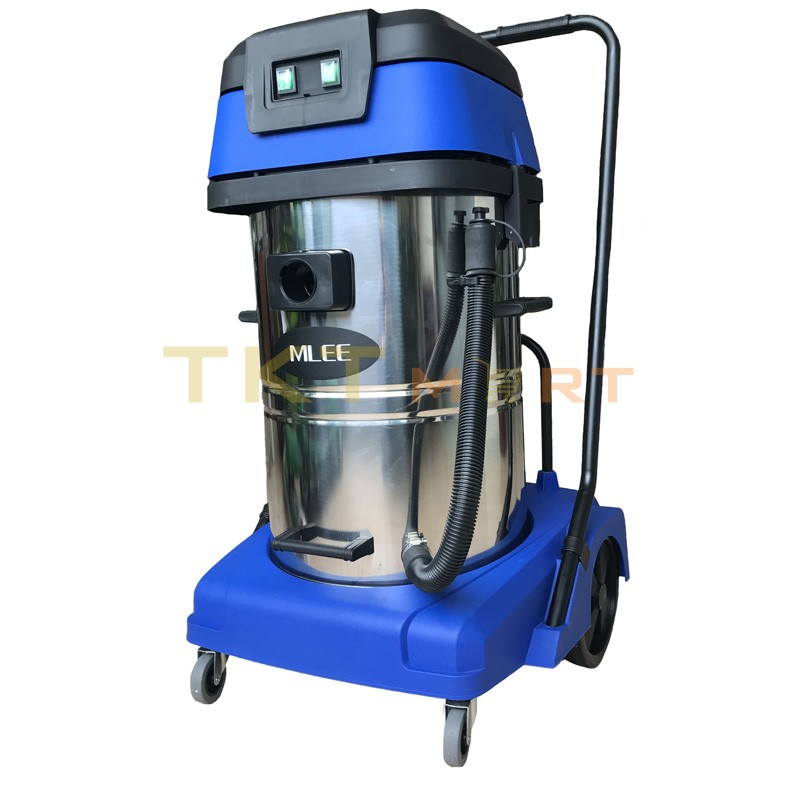 Wet Dry Vacuum Cleaner Mlee X60, 60 liters, 2 motors