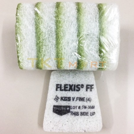 KGS Flexis FF 92x90 Green Very Fine Grit 3000 Pad