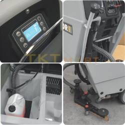 Walk behind floor scrubber driers Lavor Next Evo 50E details