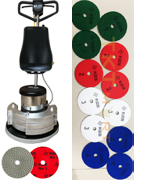 Floor Polishing KGS Diamond Disc: European Standard, High Quality, Durable